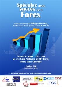 Ecole commerce finance - Séminaire Forex