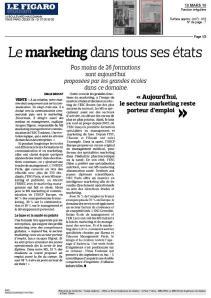 MBA spécialisés ESG Le Figaro mars2010