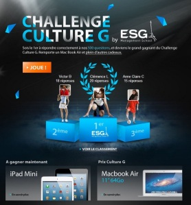 Challenge culture G ESG Management School