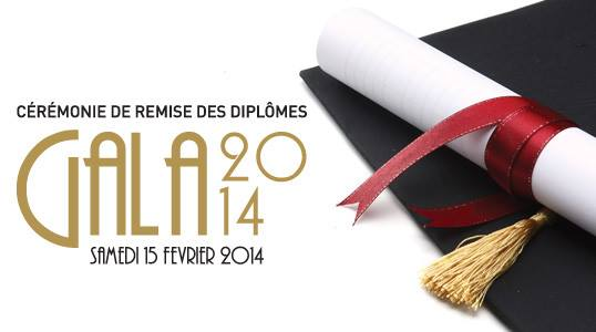 gala 2014-remise des diplomes groupe ESG